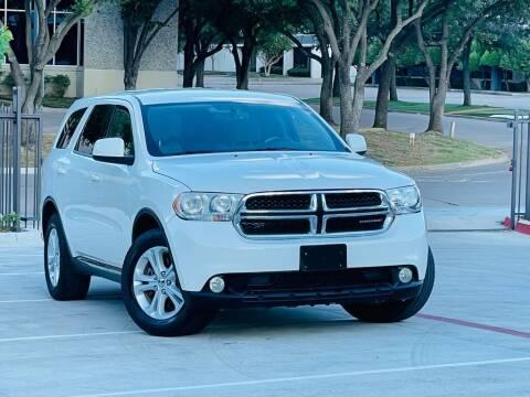 2011 Dodge Durango for sale at Texas Drive Auto in Dallas TX