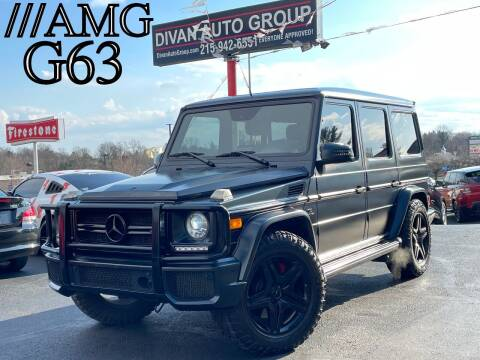 2013 Mercedes-Benz G-Class for sale at Divan Auto Group in Feasterville PA