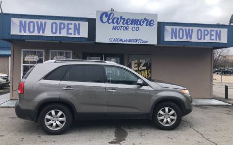 2012 Kia Sorento for sale at Claremore Motor Company in Claremore OK
