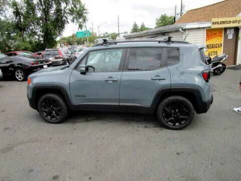 2017 Jeep Renegade for sale at American Auto Group Now in Maple Shade NJ