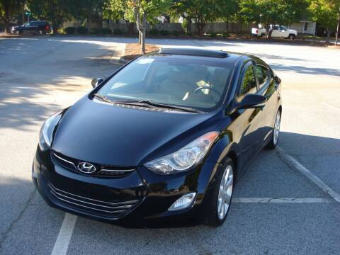 2012 Hyundai Elantra for sale at Uniworld Auto Sales LLC. in Greensboro NC