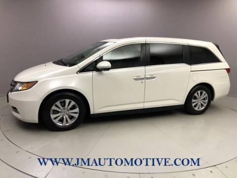 2015 Honda Odyssey for sale at J & M Automotive in Naugatuck CT