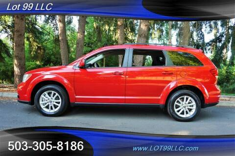 2016 Dodge Journey for sale at LOT 99 LLC in Milwaukie OR
