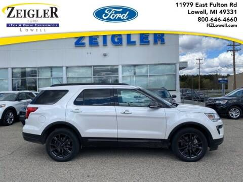 2019 Ford Explorer for sale at Zeigler Ford of Plainwell- Jeff Bishop in Plainwell MI