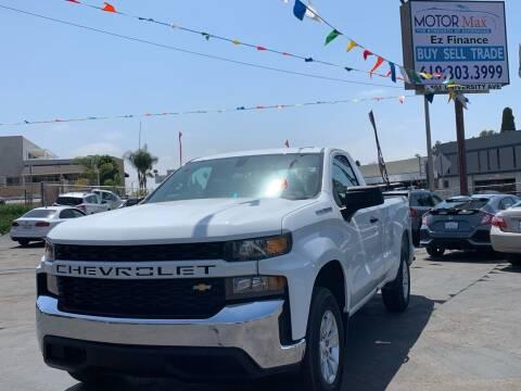 2020 Chevrolet Silverado 1500 for sale at MotorMax in Lemon Grove CA