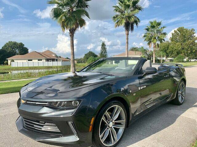 2016 Chevrolet Camaro for sale at CLEAR SKY AUTO GROUP LLC in Land O Lakes FL