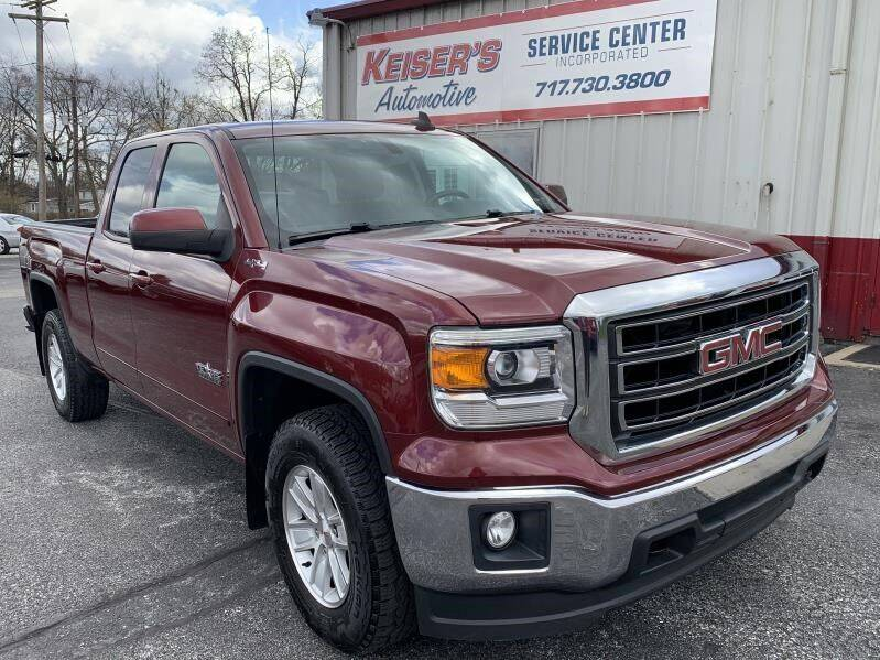 2015 GMC Sierra 1500 for sale at Keisers Automotive in Camp Hill PA