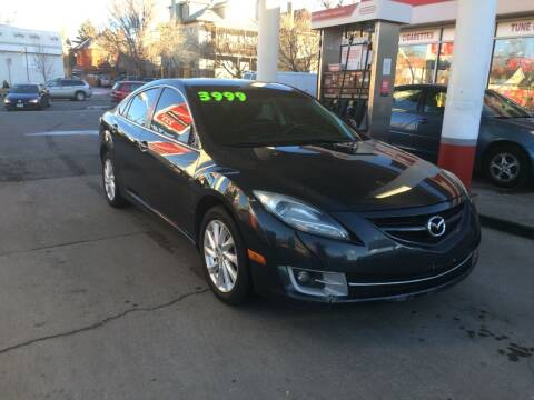 2012 Mazda MAZDA6 for sale at Capitol Hill Auto Sales LLC in Denver CO