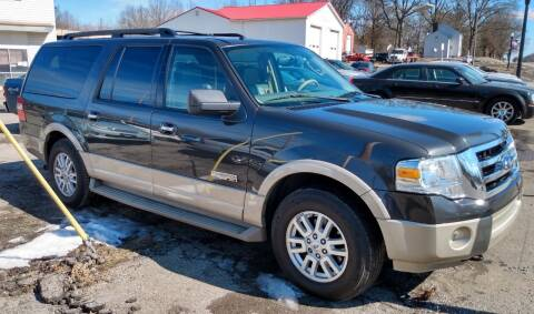 2007 Ford Expedition EL for sale at Angelo's Auto Sales in Lowellville OH