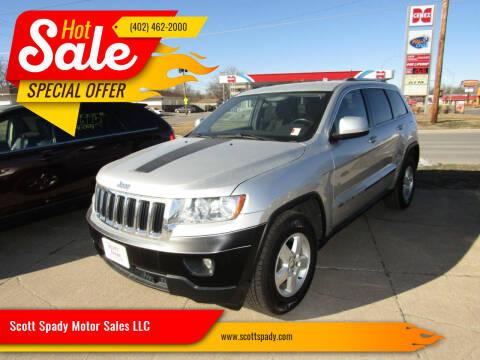 2011 Jeep Grand Cherokee for sale at Scott Spady Motor Sales LLC in Hastings NE