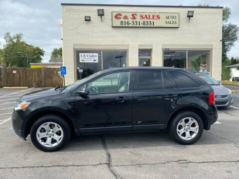 2014 Ford Edge for sale at C & S SALES in Belton MO