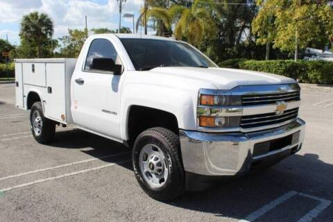 2015 Chevrolet Silverado 2500HD for sale at Truck and Van Outlet in Miami FL