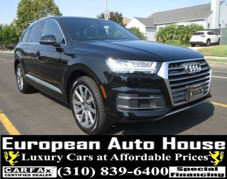 2018 Audi Q7 for sale at European Auto House in Los Angeles CA