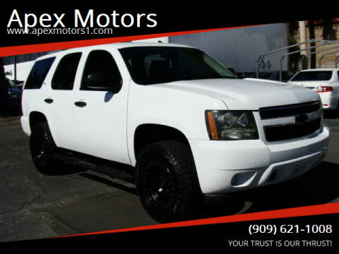 2009 Chevrolet Tahoe for sale at Apex Motors in Montclair CA