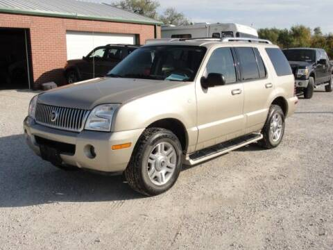 2004 Mercury Mountaineer for sale at Frieling Auto Sales in Manhattan KS
