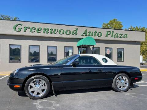 2002 Ford Thunderbird for sale at Greenwood Auto Plaza in Greenwood MO