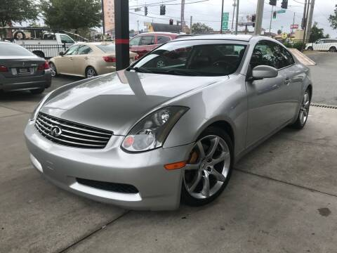2003 Infiniti G35 for sale at Michael's Imports in Tallahassee FL