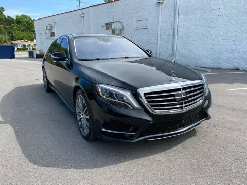 2014 Mercedes-Benz S-Class for sale at Consumer Auto Credit in Tampa FL