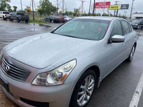 2009 Infiniti G37 Sedan for sale at Auto Solutions in Warr Acres OK