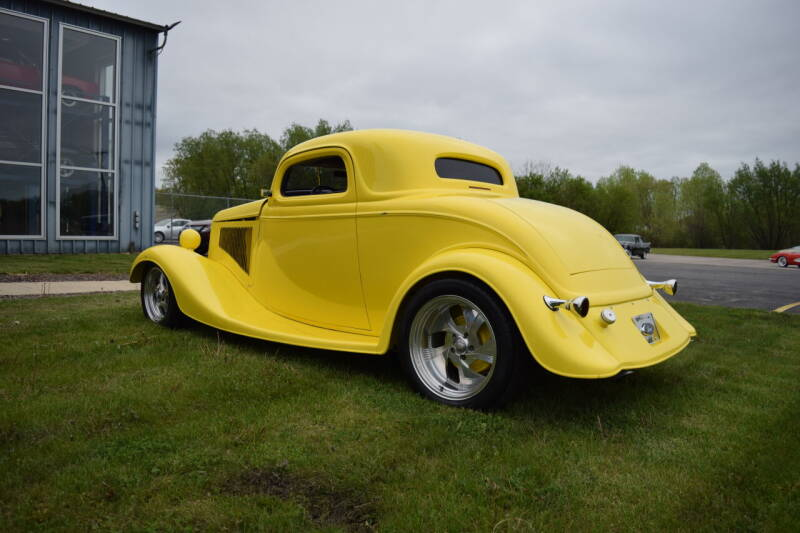 1934 Ford 3 Window Coupe for sale at Studio Hotrods in Richmond IL