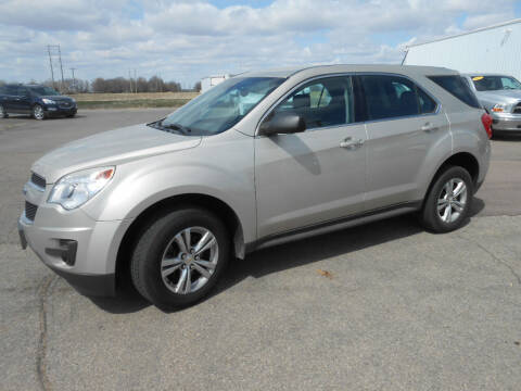 2015 Chevrolet Equinox for sale at Salmon Automotive Inc. in Tracy MN