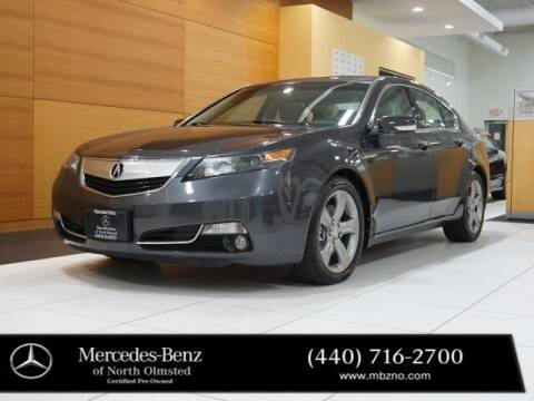 2013 Acura TL for sale at Mercedes-Benz of North Olmsted in North Olmstead OH