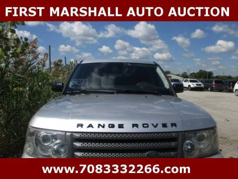 2006 Land Rover Range Rover Sport for sale at First Marshall Auto Auction in Harvey IL