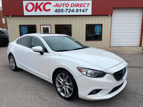 2015 Mazda MAZDA6 for sale at OKC Auto Direct in Oklahoma City OK