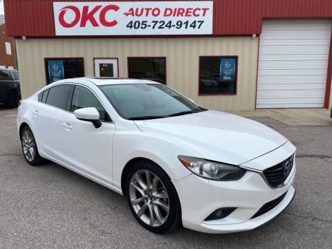 2015 Mazda MAZDA6 for sale at OKC Auto Direct, LLC in Oklahoma City OK