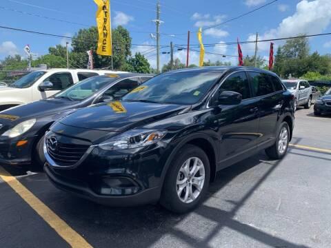 2014 Mazda CX-9 for sale at America Auto Wholesale Inc in Miami FL