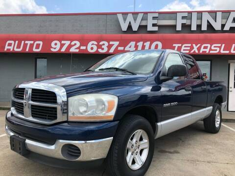 2006 Dodge Ram Pickup 1500 for sale at Texas Luxury Auto in Cedar Hill TX