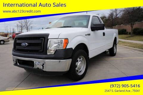 2014 Ford F-150 for sale at International Auto Sales in Garland TX