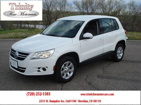 2010 Volkswagen Tiguan for sale at TRINITY FINE MOTORCARS in Sheridan CO