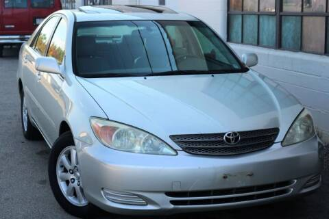 2002 Toyota Camry for sale at JT AUTO in Parma OH