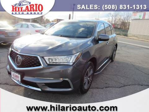 2017 Acura MDX for sale at Hilario's Auto Sales in Worcester MA