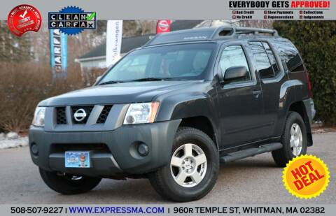 2008 Nissan Xterra for sale at Auto Sales Express in Whitman MA