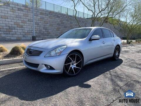 2012 Infiniti G37 Sedan for sale at MyAutoJack.com @ Auto House in Tempe AZ