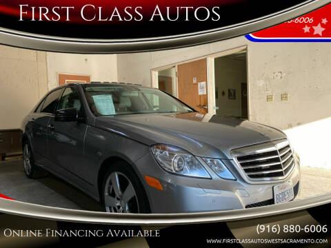 2010 Mercedes-Benz E-Class for sale at Car Source Center in West Sacramento CA