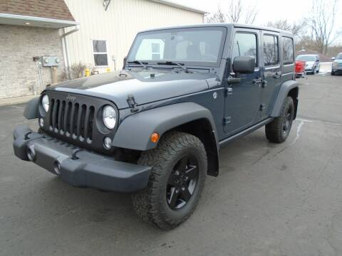 2017 Jeep Wrangler Unlimited for sale at Ritchie Auto Sales in Middlebury IN
