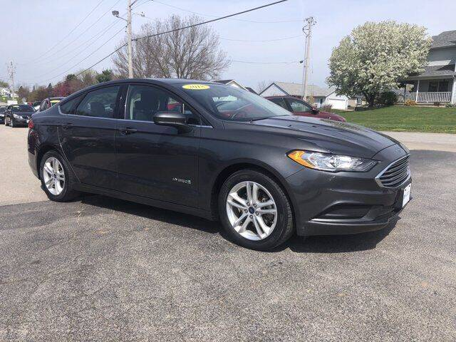 2018 Ford Fusion Hybrid for sale in West Branch, IA