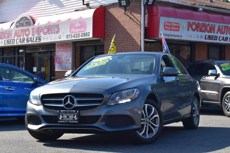 2018 Mercedes-Benz C-Class for sale at Foreign Auto Imports in Irvington NJ