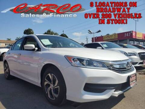 2017 Honda Accord for sale at CARCO SALES & FINANCE #3 in Chula Vista CA