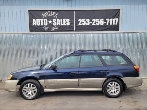 2003 Subaru Outback for sale at Austin's Auto Sales in Edgewood WA