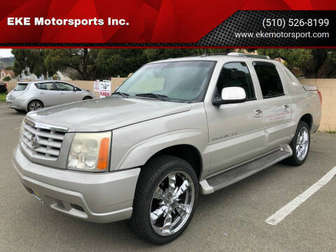 2005 Cadillac Escalade EXT for sale at EKE Motorsports Inc. in El Cerrito CA