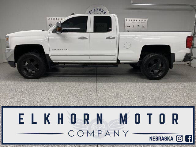 2016 Chevrolet Silverado 1500 for sale at Elkhorn Motor Company in Waterloo NE