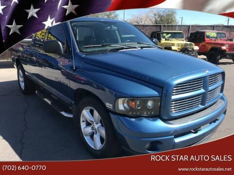 2004 Dodge Ram Pickup 1500 for sale at Rock Star Auto Sales in Las Vegas NV