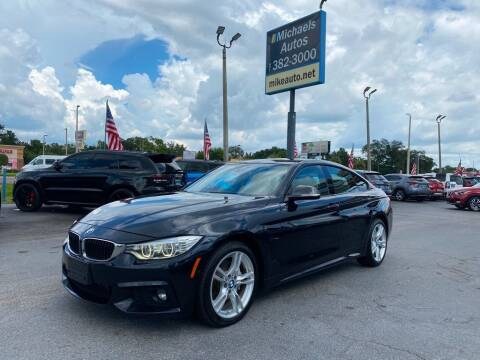 2016 BMW 4 Series for sale at Michaels Autos in Orlando FL