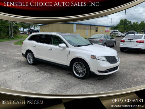 2014 Lincoln MKT for sale at Sensible Choice Auto Sales, Inc. in Longwood FL