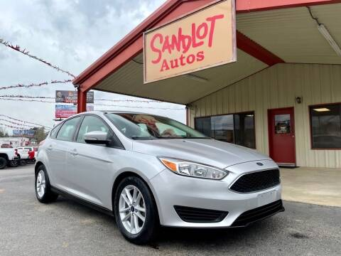 2017 Ford Focus for sale at Sandlot Autos in Tyler TX