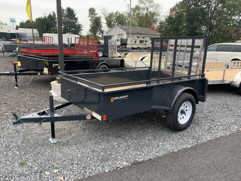 2022 Belmont 5x8 Solid Side Utility